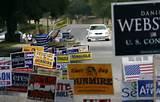 photos of Campaign Signs Dallas