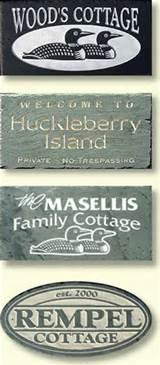 photos of House Signs Cottage