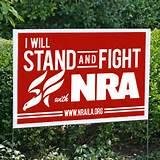pictures of Nra Yard Sign