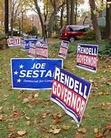 images of Campaign Trail Yard Signs
