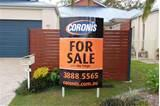 pictures of Real Estate Signs Sold