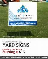 Yard Sign Signs images