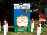 images of Yard Sign For Birthdays