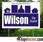 Campaign Signs Worth