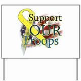 photos of Yard Sign Support Our Troops