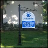 photos of Real Estate Sign System