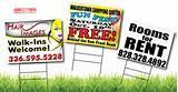 Yard Sign Sizes images