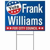 pictures of Campaign Signs Examples