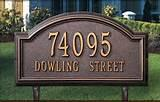 House Signs Address