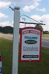 images of Real Estate Sign Hanging
