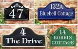pictures of House Signs House Numbers