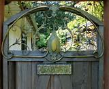 images of Garden Signs Gate