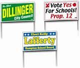 Political Campaign Signs Massachusetts