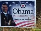 images of Obama 2012 Campaign Signs