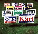4x4 Yard Signs