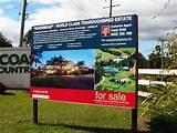 Real Estate Signs Examples photos