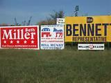 Campaign Signs And Placement pictures