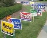 Campaign Signs And Placement
