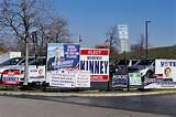 Campaign Signs By Polling Places